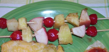 Solar Fruit Kabobs