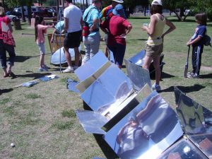 Solar ovens at Great Solar Cookout 2011
