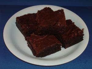 solar baked brownies