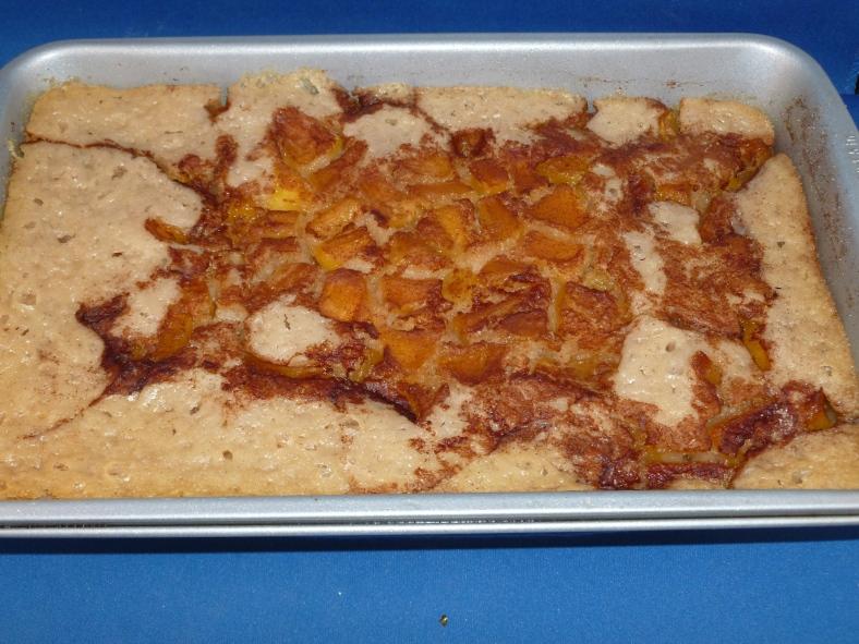 dessert, peach, solar cooking, solar oven, recipe