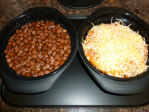 Turkey Enchiladas and Beans in the Sun Flair Solar oven