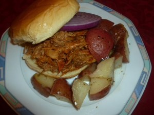 Barbeque Turkey Sandwich