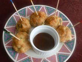 Turkey meatballs with Medifast BBQ Bites