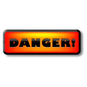 Danger graphic